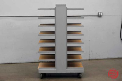 8-Tray Drying Cart on Wheels - 111820083150