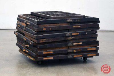 Assorted Letterpress Hamilton Type Cabinet Drawers - 112420023010