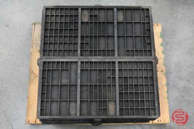 Assorted Letterpress Hamilton Type Cabinet Drawers - 112420024710