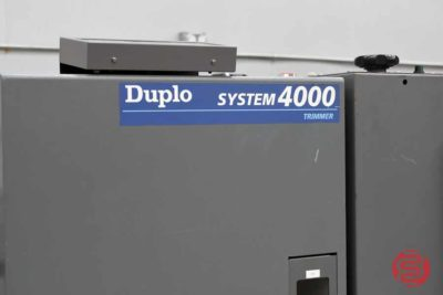 Duplo 5000 Collating System w/ Booklet Maker and Trimmer - 110420092050