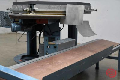 Brackett High-Speed Automated Circular Padder w/ Conveyor - 110520025740