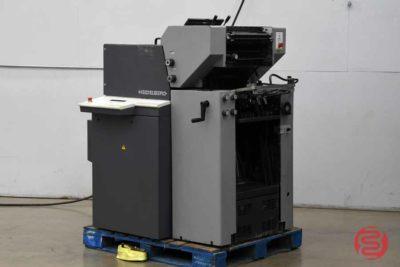 1996 Heidelberg Printmaster QM-46-2 Two Color Printing Press - 121620121030