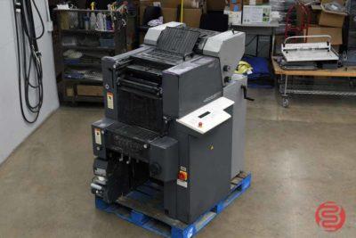 1998 Heidelberg Printmaster QM-46-2 Two Color Printing Press - 121720102850