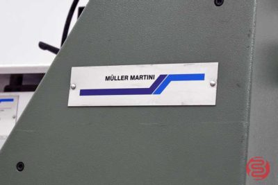 2001 Muller Martini 6-Pocket Saddle Stitcher w/ Cover Feeder - 120820040520