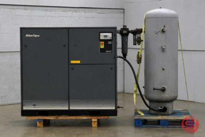 Atlas Copco GA 37 Oil-Injected Rotary Screw Air Compressor - 122220013220
