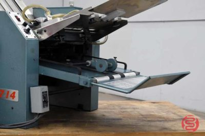 Baum 714 Vacuum Feed Paper Folder - 122820114250