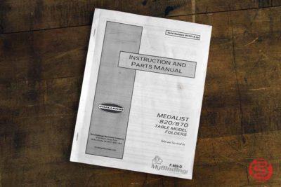 Challenge 870 Medalist Desktop Paper Folder - 120320081850