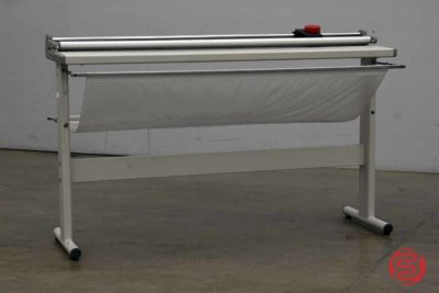 """Neolt Trim 130 Manual 51"""" Rotary Paper Cutter w/ Stand - 120820075610"""