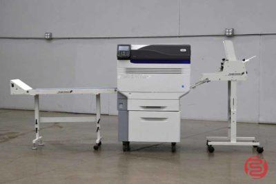 Oki C931e Digital Color Printer w/ Straight Shooter Conveyor - 121420093150