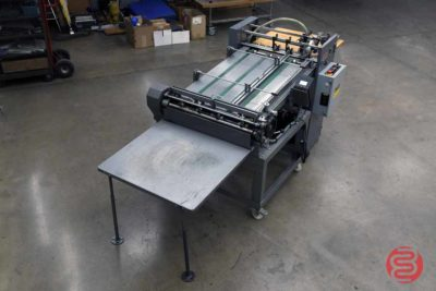 Rollem Champion 990 Perf Slit Score Machine w/ Pile Feeder and Counter - 121520093840