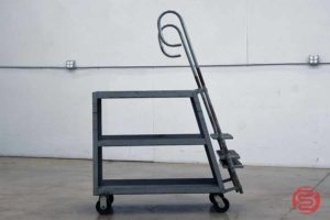 Rolling Step Ladder Cart - 012021094910